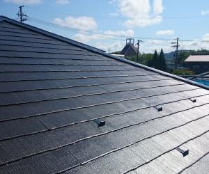 きれいになった屋根