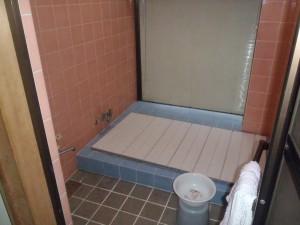 お風呂改修前